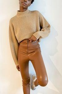 🎯Aritzia Wilfred Juniper Vegan Leather Pants